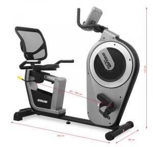 Bicicleta fitness recumbent electromagnetica Scud U7 Huis [13]