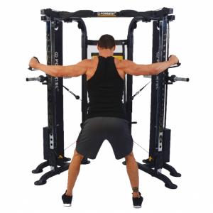 Aparatul Multifunctional Trainer Deluxe Powertec WB-FTD16 [2]