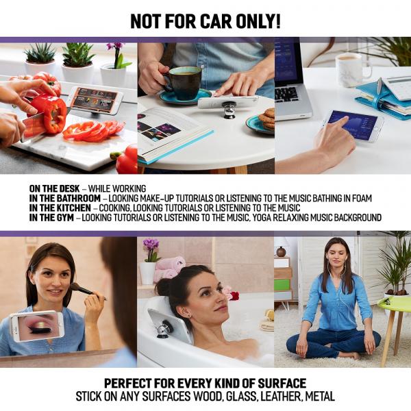 Suport magnetic pentru orice telefon sau tableta i4c! 3