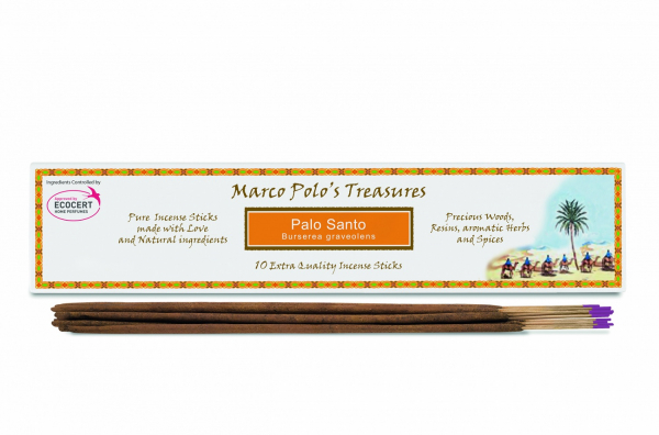 Betisoare parfumate cu Palo Santo (Burserea Graveolens) 10 buc Fiore D'Oriente [0]