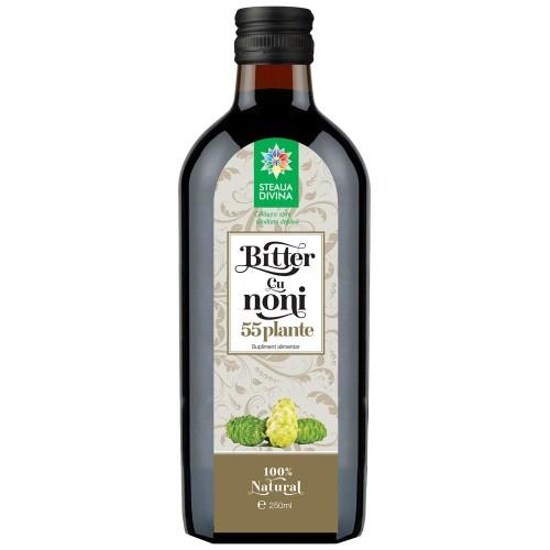 Bitter cu Noni 55 plante 250 ml 250 ml 0