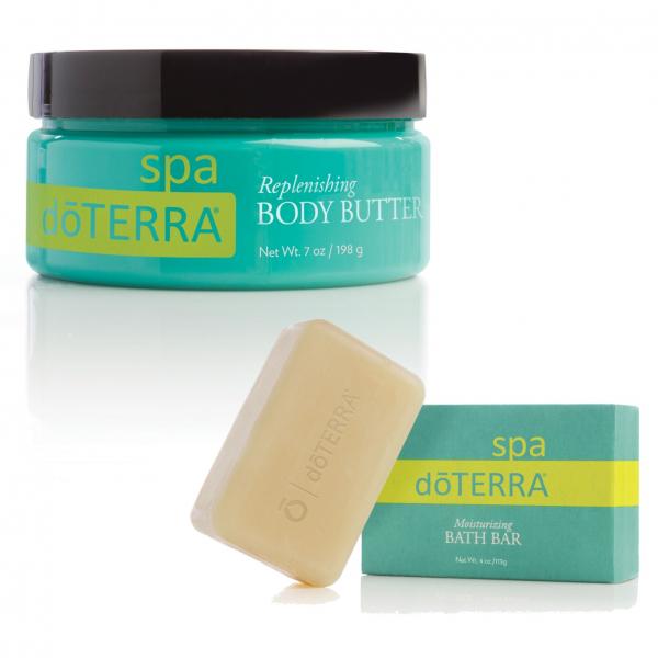 Pachet Crema Unt regeneratoare pentru corp + Sapun hidratant pentru baie doTERRA Spa gratuit ! 0