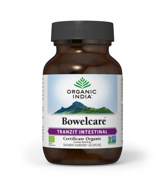 Bowelcare 60 cps Organic India 0