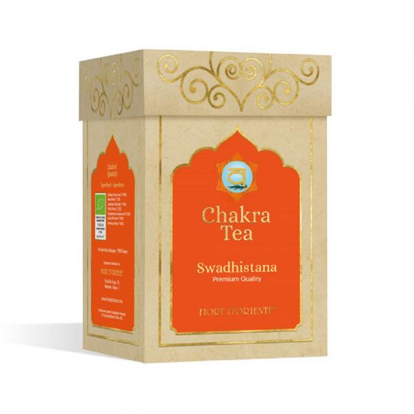 Ceai pentru Chakra Nr. 2 – Swadhistana (Svadhisthana) 50 g - Fiore D'Oriente 0
