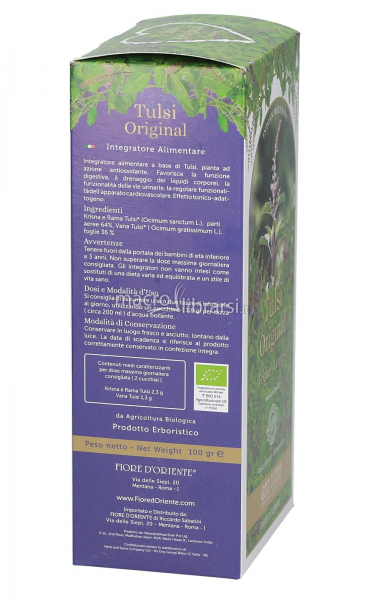 Ceai Tulsi Original Gran Tisana frunze - 100g 2