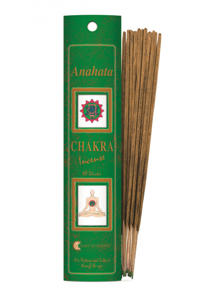 Bețișoare Chakra Nr. 4 - Anahata - Fiore D'Oriente 0