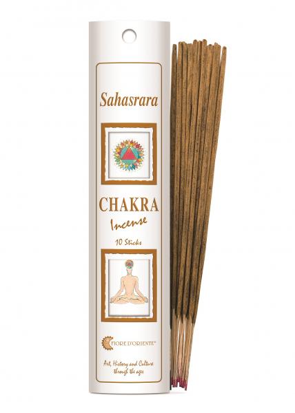 Bețișoare Chakra Nr. 7 - Sahasrara - Fiore D'Oriente 0