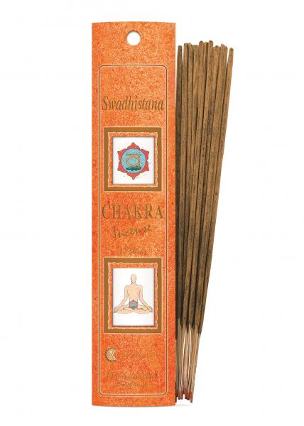Bețișoare Chakra Nr. 2 - Swadisthana - Fiore D'Oriente 0