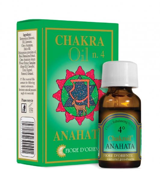 Ulei pentru Chakra nr.4 - Anahata - Fiore D'Oriente 0