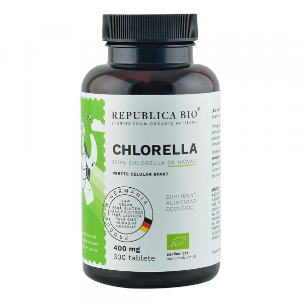 Chlorella ecologica 400 mg 300 cpr 300 comprimate 0