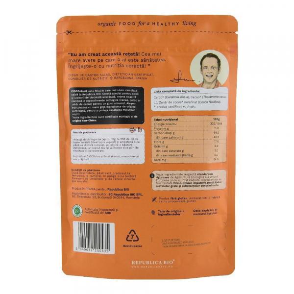 Ciococino baza pentru ciocolata calda ecologica Republica BIO - 200 g 1