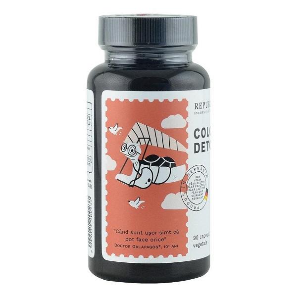 Colon Detox Ecologic 90 cps Republica Bio