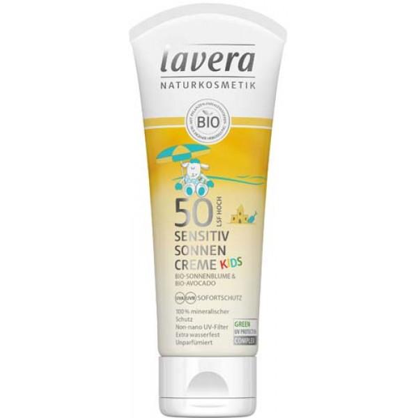 Crema cu protectie solara pentru copii SPF 50 pentru copii 75mg Lavera 0