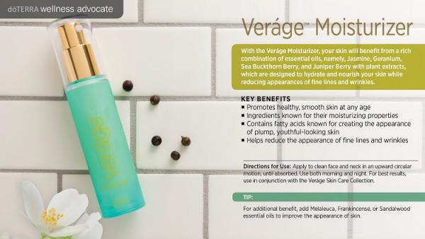 Crema hidratanta Veráge ™ Moisturizer 30 ml doTerra 2