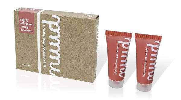 Deodorant NUUD 100% vegan 2x20 ml Pachetul Inteligent! 0