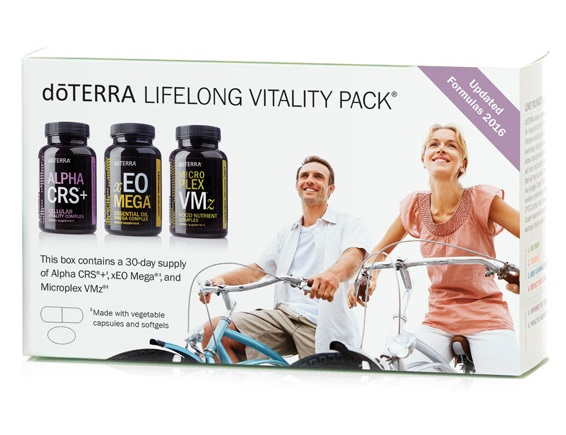 doTERRA Life Long Vitality Pack - complex pentru bunastare generala si vitalitate 0