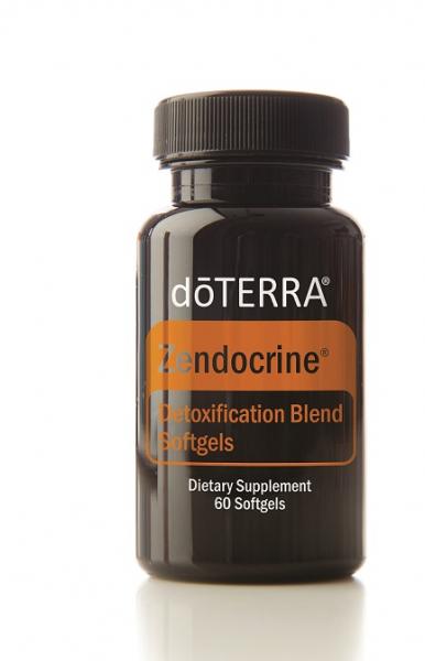 doTerra Zendocrine® Softgels Detoxification Blend  - 60 cps moi - ajuta la dexotul ficatului, plamanilor si colonului. 0