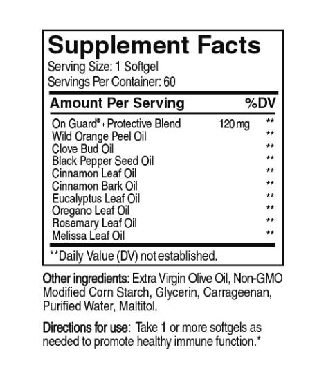 dōTERRA On Guard® + 60 cps - Blend pentru protectie imunitara! 1