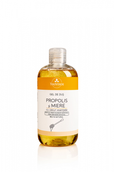 Gel de dus cu Propolis si Miere cu uleiuri esentiale 300 ml 0