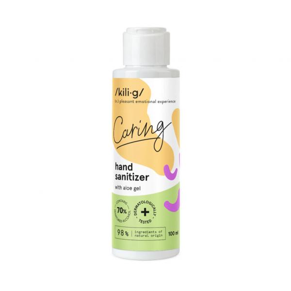 Gel dezinfectant cu aloe vera, KILIG Caring, 100 ml 0