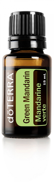 Ulei esential Green Mandarine 15 ml - pentru sistemul imunitar si antioxidant! 0