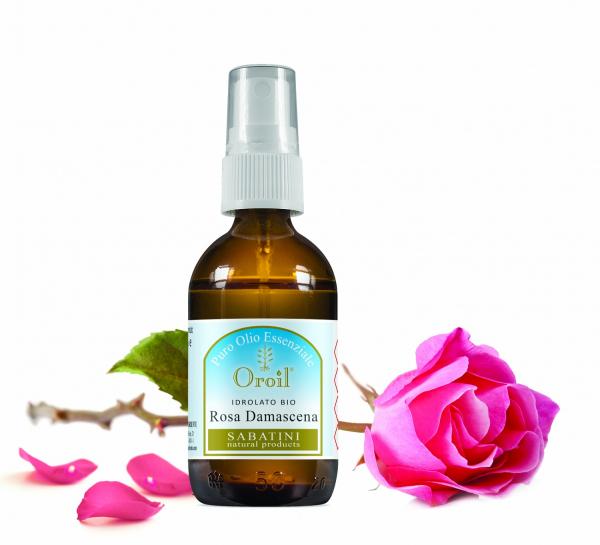 Hidrosol de Trandafir de Damasc 50 ml Fiore D'Oriente 0
