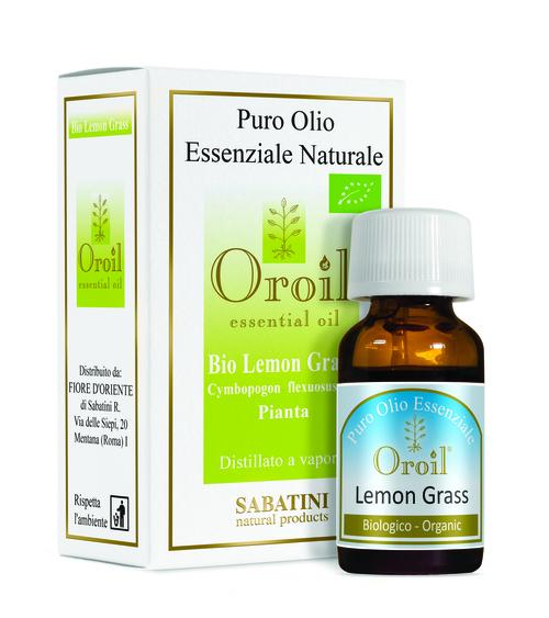 Ulei esential BIO Lemon Grass 10 ml - SABATINI - Fiore D'Oriente 0