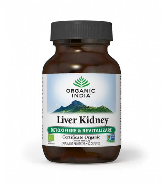 Liver Kidney 60 cps Organic India 0