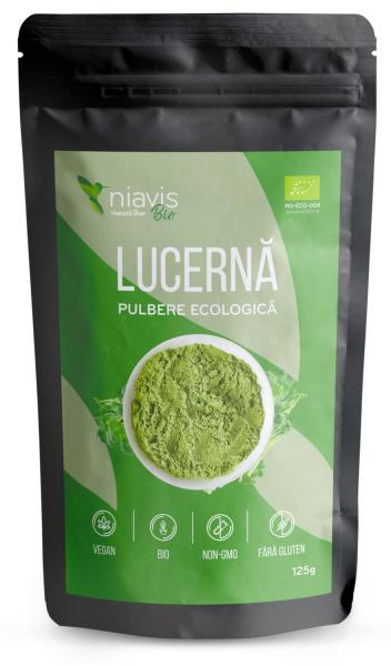 Lucerna (Alfalfa) pulbere ecologica/BIO 125g 0