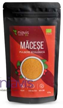 Macese pulbere ecologica/BIO 125g 125 g