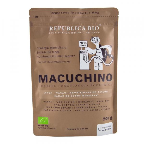 Macuchino, pulbere functionala ecologica Republica BIO - 200 g 0