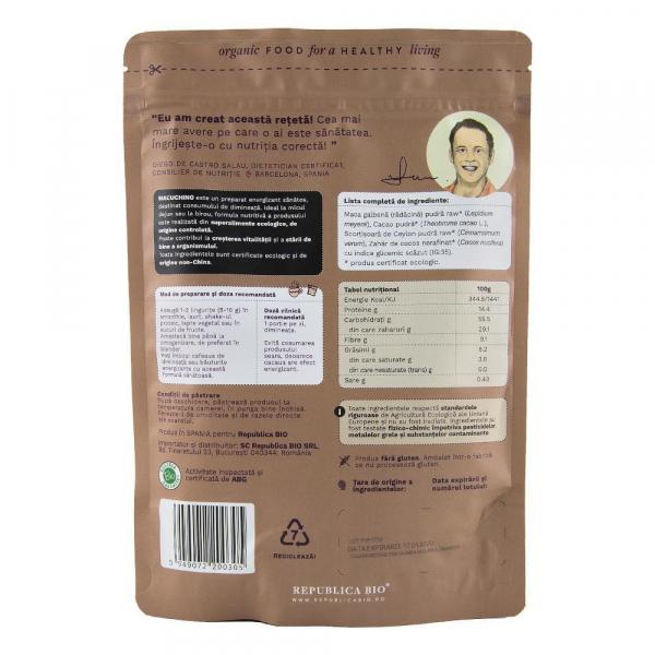 Macuchino, pulbere functionala ecologica Republica BIO - 200 g 1