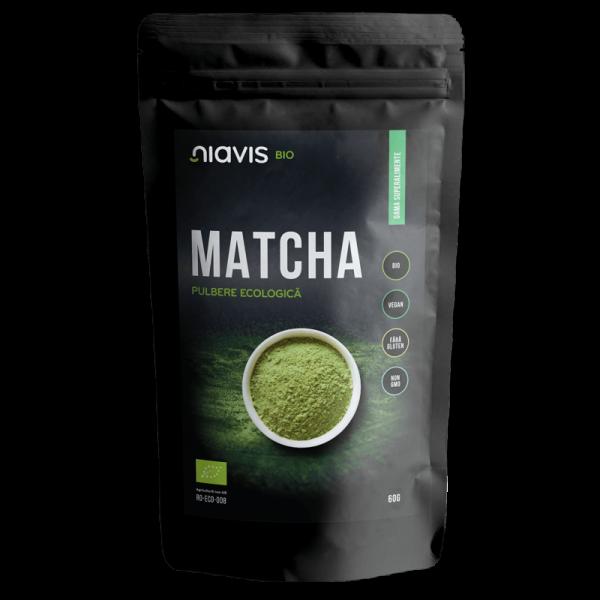 Matcha - pulbere ecologica 60 g - Niavis