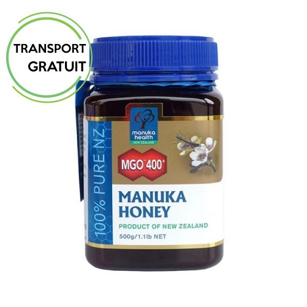 Miere de Manuka MGO™ 400+ (500g) Manuka Health - produs in Noua Zeelanda