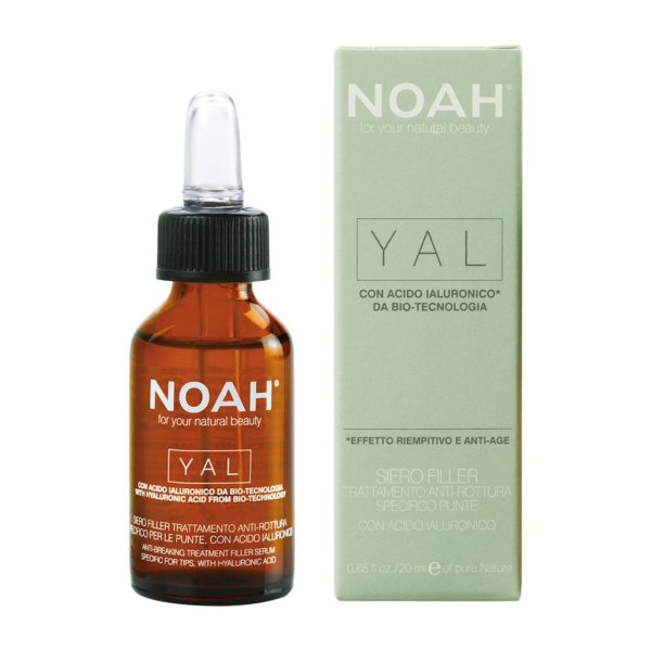 Ser pentru par cu acid hialuronic pentru regenerare - Yal, Noah, 20 ml 0