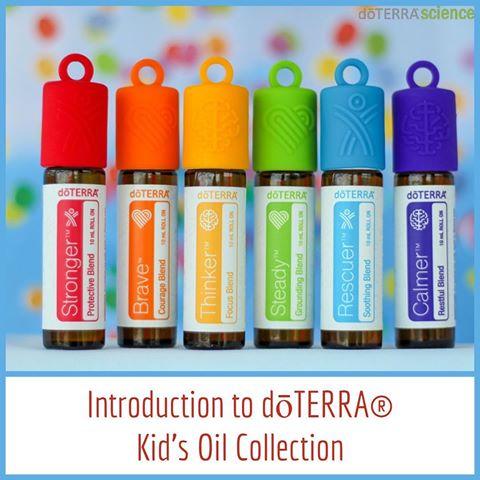 Set uleiuri esentiale Kids Collection 6x10 ml doterra [2]