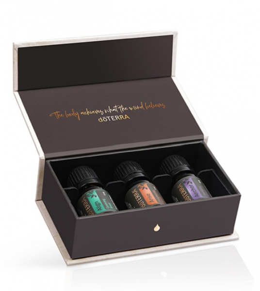 Set uleiuri esentiale Yoga Collection (3x5 ml) doTERRA 0