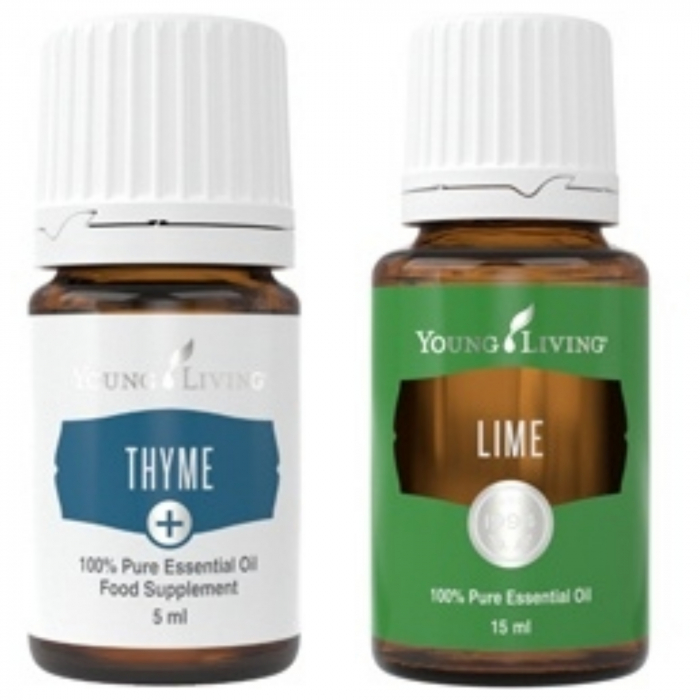 SPRING SALES: Cumperi Thyme+5ml si primesti GRATUIT un Lime 15 ml Young Living 0