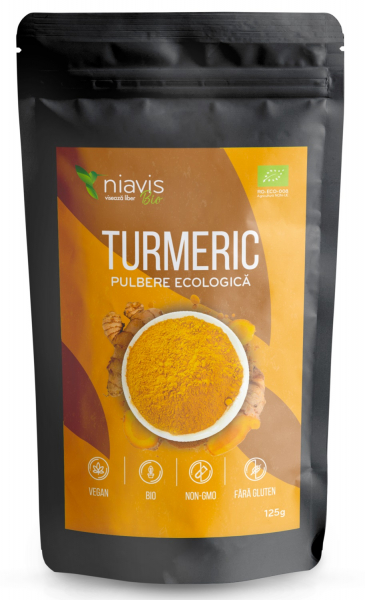 Turmeric pulbere ecologica/BIO 125g 0