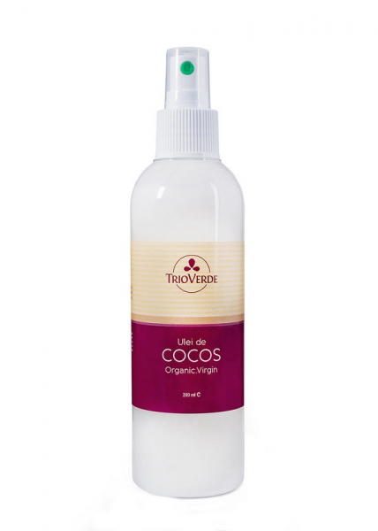 Ulei de Cocos organic virgin 200 ml Trio Verde 0