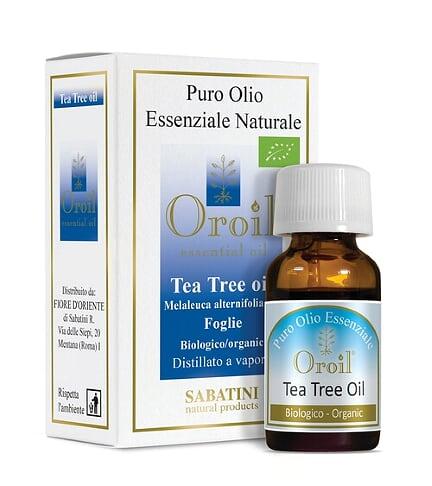 Ulei esential de Tea Tree (Melaleuca alternifolia) 10ml - Fiore D'Oriente 0