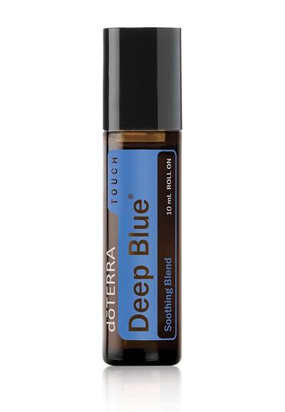 Ulei esential Deep Blue Touch 10 ml roll on doTERRA - pentru un masaj calmant si linistitor