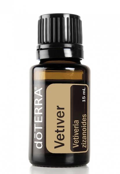 Ulei esential Vetiver (Vetiveria Zizaniodes) 15 ml doTERRA - ofera un sentiment de liniste si calm, ideal pentru somn linistit! 0