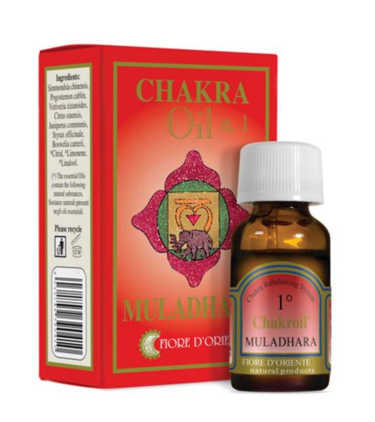 Ulei pentru Chakra nr. 1 - Muladhara - Fiore D'Oriente [0]