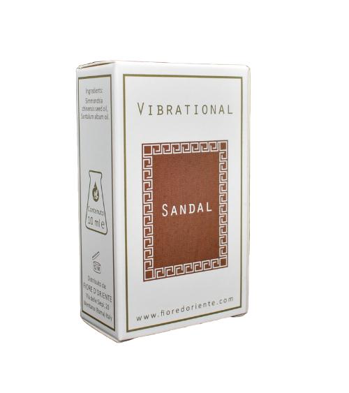 Ulei parfum vibrational Sandal (Santalum Album) 10ml - Fiore D'Oriente 0