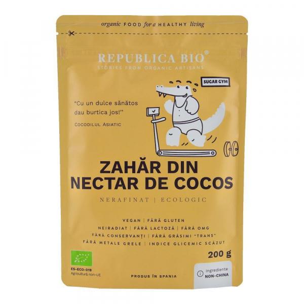 Zahar din nectar de cocos ecologic pur Republica BIO - 200 g 0