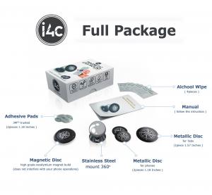 Suport magnetic pentru orice telefon sau tableta i4c!4