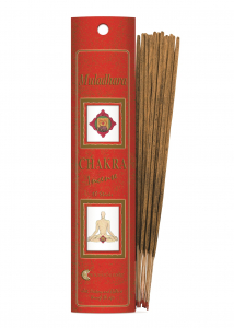 Bețișoare Chakra Nr. 1 - Muladhara - Fiore D'Oriente