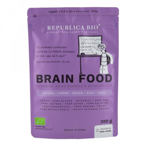 Brain Food, pulbere functionala ecologica Republica BIO - 200 g0