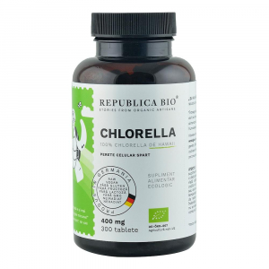 Chlorella ecologica 400 mg 300 cpr 300 comprimate0
